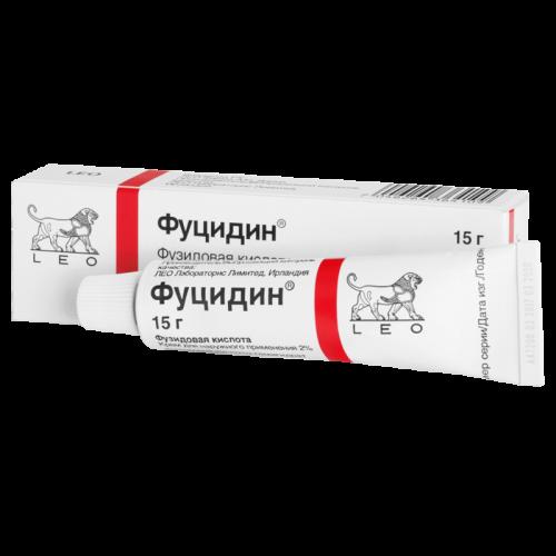 Фуцидин крем 2% 15г
