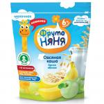 ФрутоНяня Каша молочная Овсянка/яблоко/банан 200г