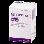 Беталок ЗОК таблетки 100мг №30