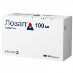 Лозап таблетки 100мг №90