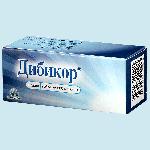 Дибикор таблетки 500мг №60