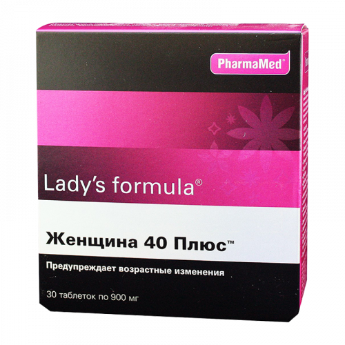 Леди-С формула Женщина 40+ таблетки №30