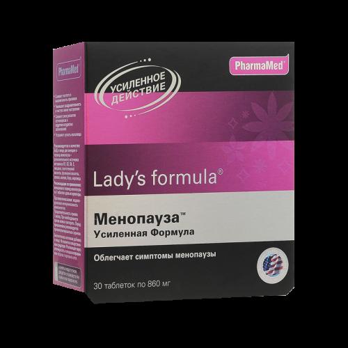 Леди-С формула Менопауза усиленная формула таблетки №30