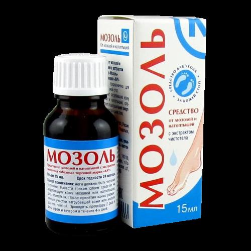 Мозоль Ка средство против мозолей/натоптышей с чистотелом 15мл