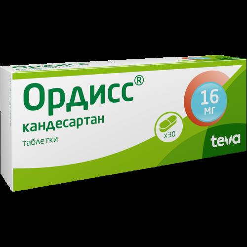 Ордисс таблетки 16мг №30