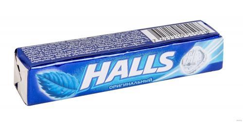 Halls Леденцы Оригинальные 25г