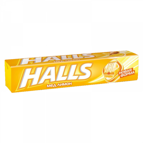 Halls Леденцы Мед/Лимон 25г