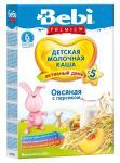 Беби Премиум Каша молочная Овсянка/персик 5мес. 250г