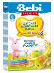 Беби Премиум Каша молочная Фруктово-злаковая ассорти 250г
