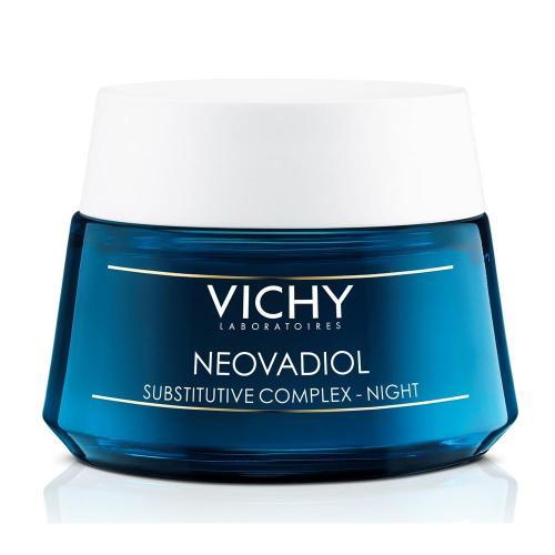 VICHY NEOVADIOL Компенсирующий комплекс, ночной крем-уход для кожи в период менопаузы, 50 мл