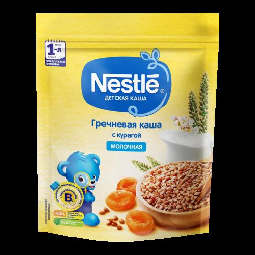 Нестле Каша молочная Гречка/курага/бифидум 220г