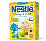 Нестле Каша молоко Овсянка/яблоко/биф. 220 г