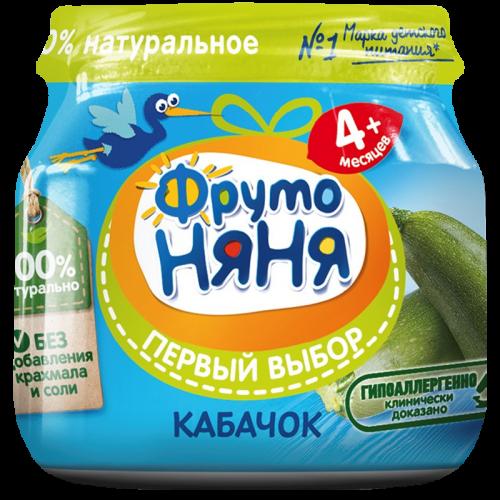 ФрутоНяня Пюре кабачок 80г