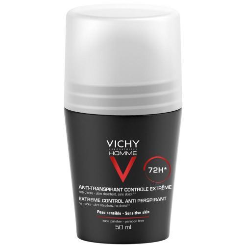 VICHY HOMME Дезодорант против избыточного потоотделения 72 часа 50мл