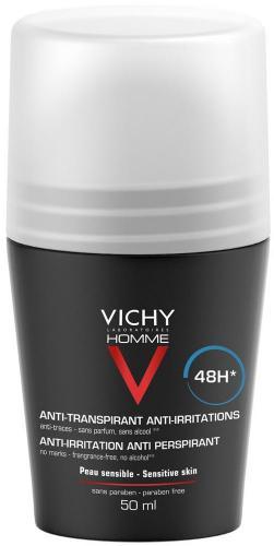 VICHY HOMME Дезодорант для чувствительной кожи 48 часов 50мл