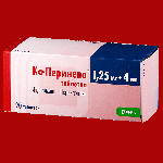 Ко-перинева таблетки 1.25/4мг №90