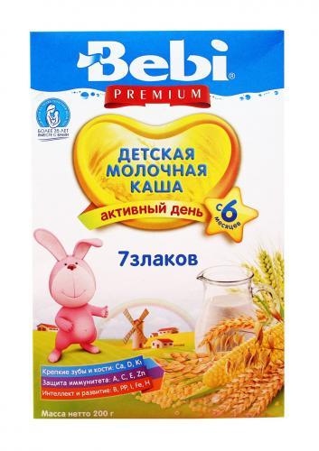 Беби Премиум Каша молочная  7 Злаков 200г