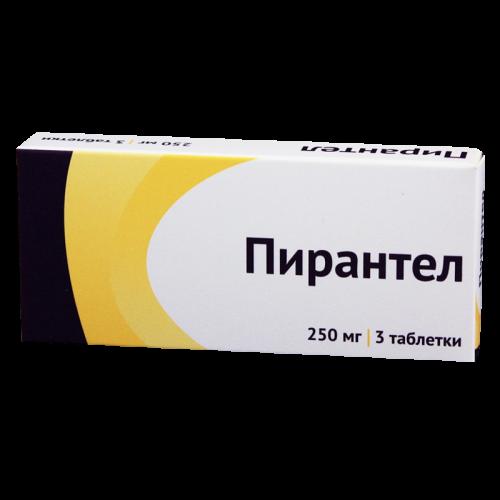 Пирантел таблетки 250мг №3