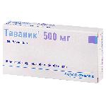 Таваник таблетки 500мг №10