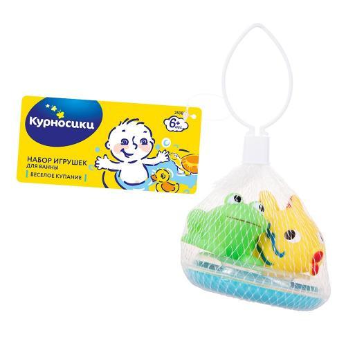 Курносики Игрушка для ванны Веселое купание 0+