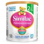 Симилак Гипоаллергенный 2 Смесь для детей с риском к аллергии 375г