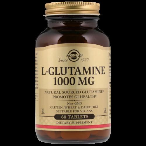 Солгар L-Глутамин таблетки 1000мг №60