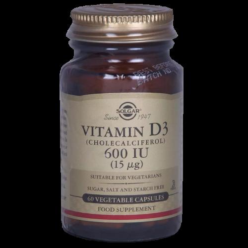 Солгар Витамин Д3 капсулы 600МЕ №60