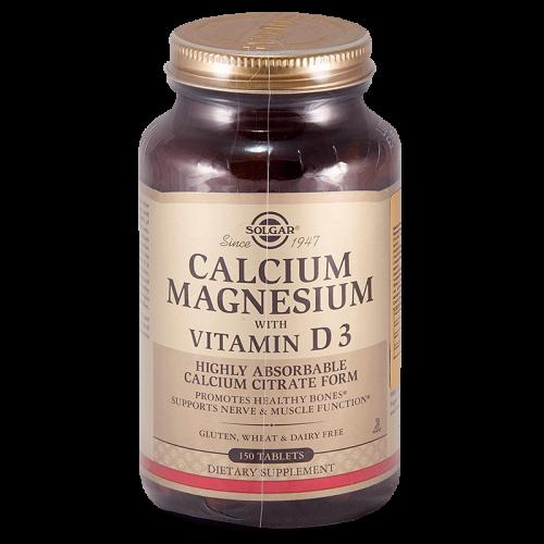 Солгар Кальций/Магний с витамином Д3 таблетки №150