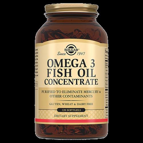 Солгар Концентрат рыбьего жира Омега-3 капсулы №120