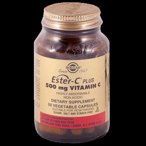 Солгар Эстер-С плюс витамин С капсулы 500 мг №50
