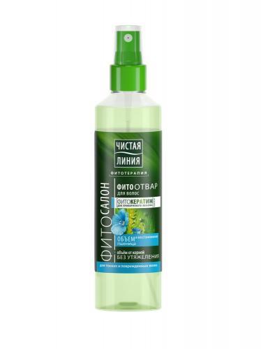 Чистая Линия Фито-отвар для волос Восстановление и объём 160мл