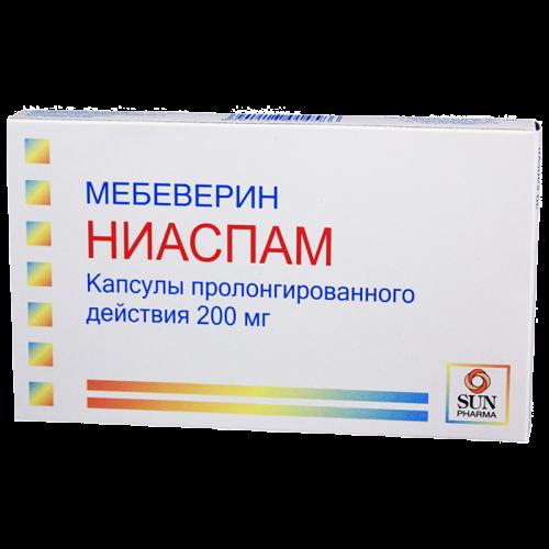 Ниаспам капсулы 200мг №30