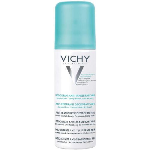 VICHY дезодорант-аэрозоль против избыточного потоотделения 48 часов защиты, 125 мл