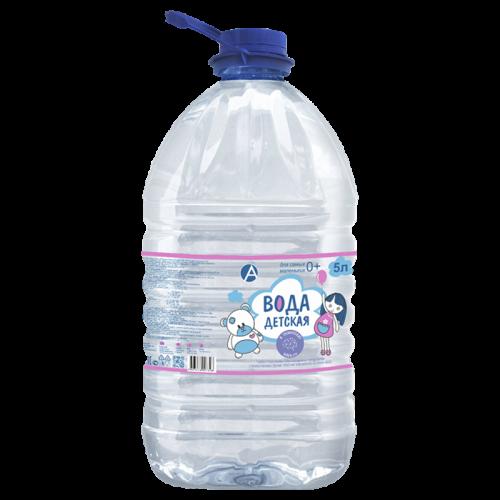 Вода питьевая детская 5л