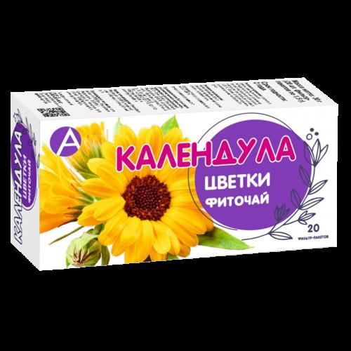 Календула цветки фильтр-пакеты 1,5г №20