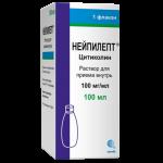 Нейпилепт раствор для приема внутрь 100мг/мл фл. 100мл