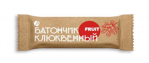 Батончик фруктовый Клюква 30г