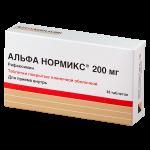 Альфа нормикс таблетки 200мг №36