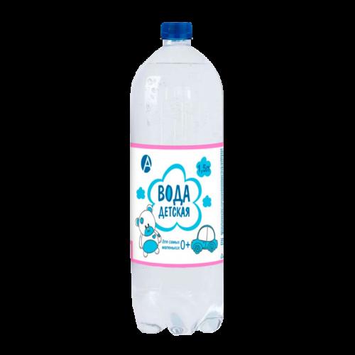 Вода питьевая детская 1,5л