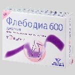 Флебодиа 600 таблетки 600мг №60