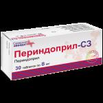 Периндоприл таблетки 8мг №30