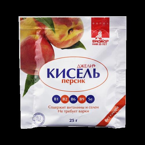 Джели Кисель без сахара Персик 25г