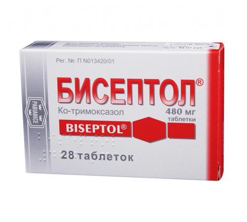 Бисептол таблетки 480мг №28