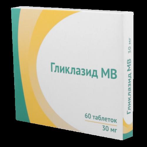 Гликлазид МВ таблетки 30мг №60