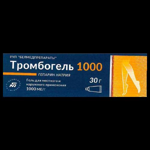 Тромбогель 1000 гель 30г