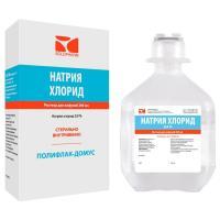 Натрия хлорид раствор для инфузий 0.9% пластиковый флакон 200мл