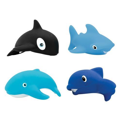 Лабби Набор игрушек для купания Морской мир 4шт