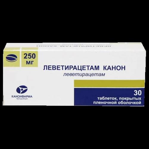 Леветирацетам таблетки 250мг №30