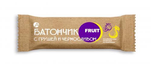 Батончик фруктовый Груша/Чернослив 30г