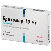 Бритомар таблетки пролонгированного действия 10мг №30